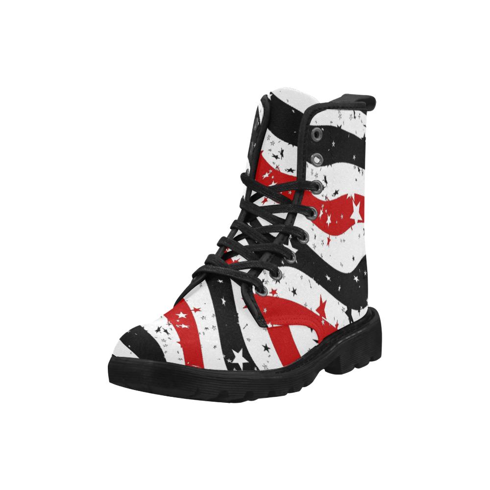 13rb Martin Boots for Men (Black) (Model 1203H)
