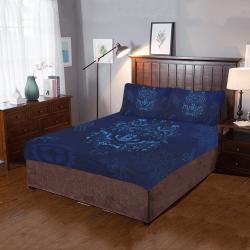 Blue Wolf 3-Piece Bedding Set