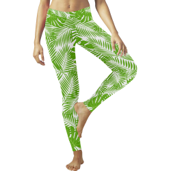 Leaf Low Rise Leggings (Invisible Stitch) (Model L05)