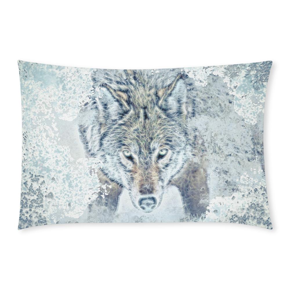 Snow Wolf 3-Piece Bedding Set