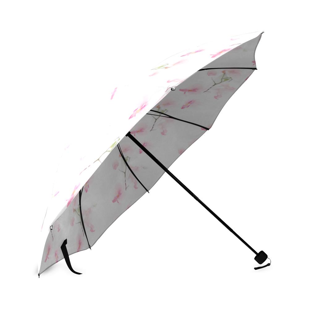 Pattern Orchidées Foldable Umbrella (Model U01)