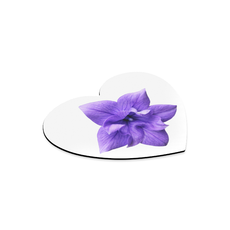 Balloon Flower Heart-shaped Mousepad