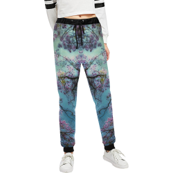 Cherry blossomL Women's All Over Print Sweatpants (Model L11)