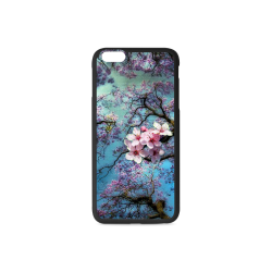 Cherry blossomL Rubber Case for iPhone 6/6s Plus