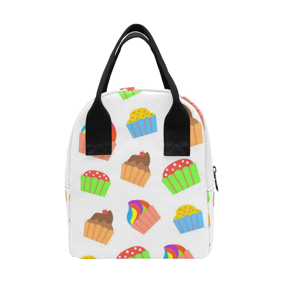 Cupcakes Lunch Bag Zipper Lunch Bag (Model 1689)