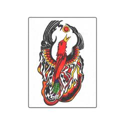 """Phoenix on Fire Blanket 50""""x60"""""""