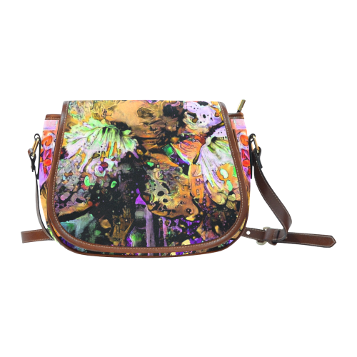 smoking hot 2b3b Saddle Bag/Large (Model 1649)