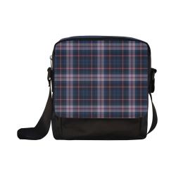 stripe blue pink Crossbody Nylon Bags (Model 1633)