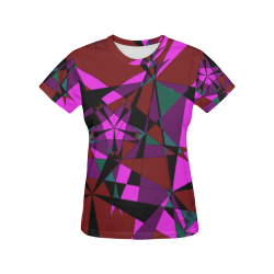 Abstract #13 2020 All Over Print T-Shirt for Women (USA Size) (Model T40)