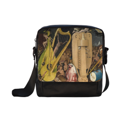 Hieronymus Bosch-The Garden of Earthly Delights (m Crossbody Nylon Bags (Model 1633)