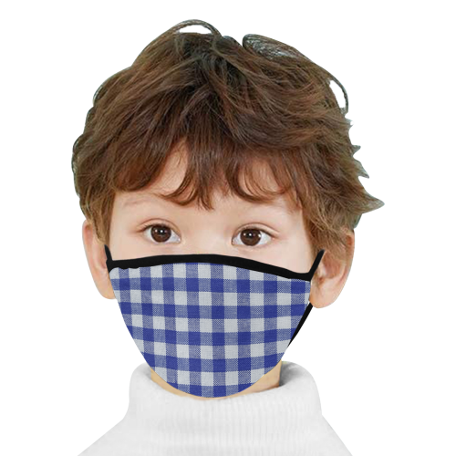 OCTOBER BLUE SQUARE MASK Mouth Mask