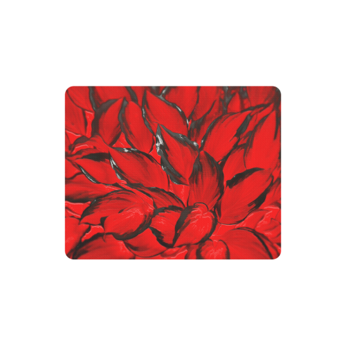 leafs_abstract TRY2 06 Rectangle Mousepad