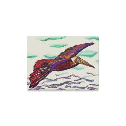"Pelican Briefly Canvas Print 16""x12"""