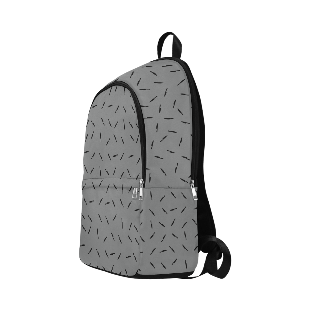 knives blk Fabric Backpack for Adult (Model 1659)