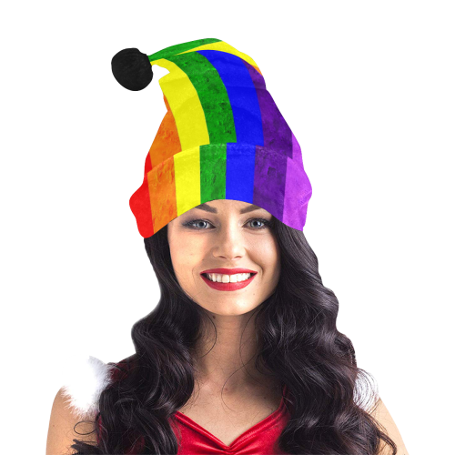 Pride Christmas by Artdream Santa Hat