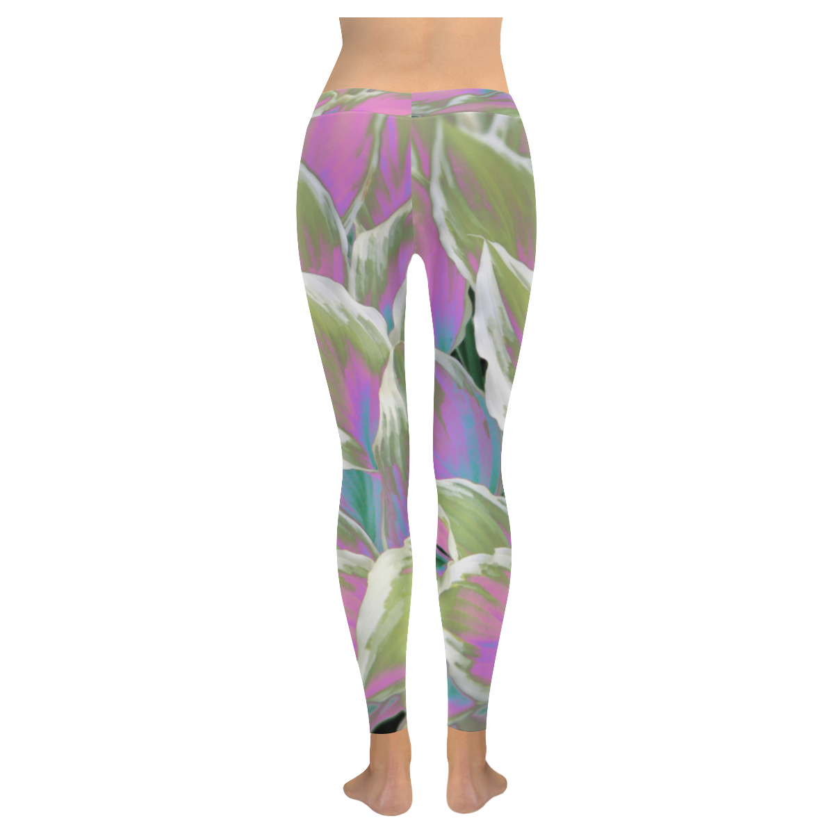 leafs_abstract 07 All Over Print Legging