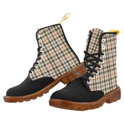 stripe brown Martin Boots For Men Model 1203H