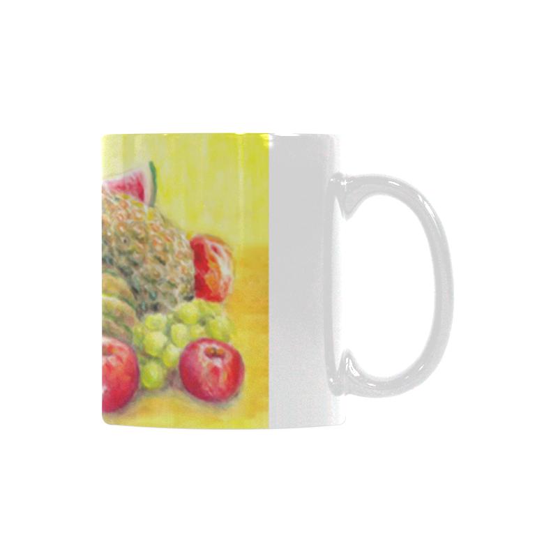 Happy Fruits White Mug(11OZ)