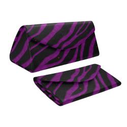 Ripped SpaceTime Stripes - Purple Custom Foldable Glasses Case