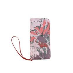 Lilac Dream Women's Clutch Wallet (Model 1637)