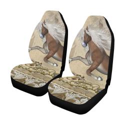 Wonderful wild horse Car Seat Covers (Set of 2)