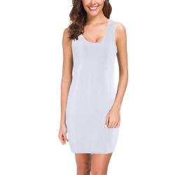 Brilliant White Medea Vest Dress (Model D06)