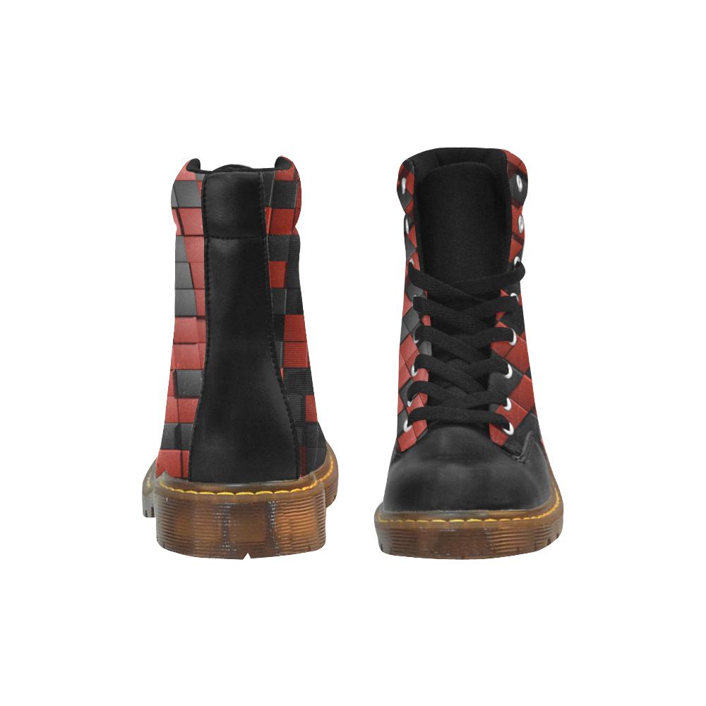 14dr Apache Round Toe Men's Winter Boots (Model 1402)