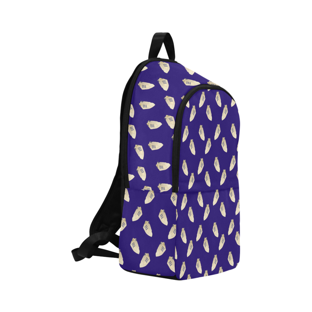 superstar pattern multi Fabric Backpack for Adult (Model 1659)