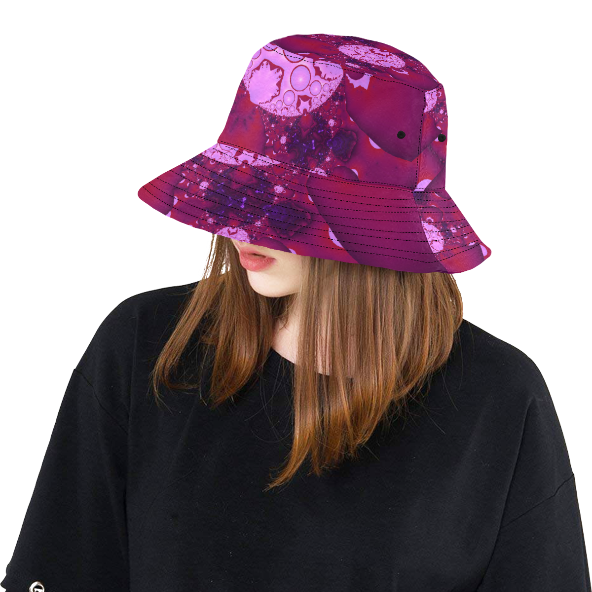 Planetary Bubble Gum All Over Print Bucket Hat