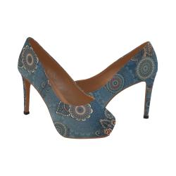 Mandalas Women's High Heels (Model 044)