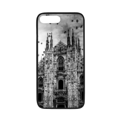 "old church cell case Rubber Case for iPhone 7 plus (5.5"")"