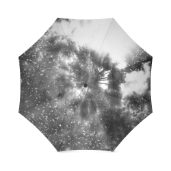 Shining Above In Black Foldable Umbrella (Model U01)