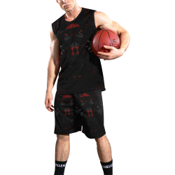 5000DUBLE 5 All Over Print Basketball Uniform