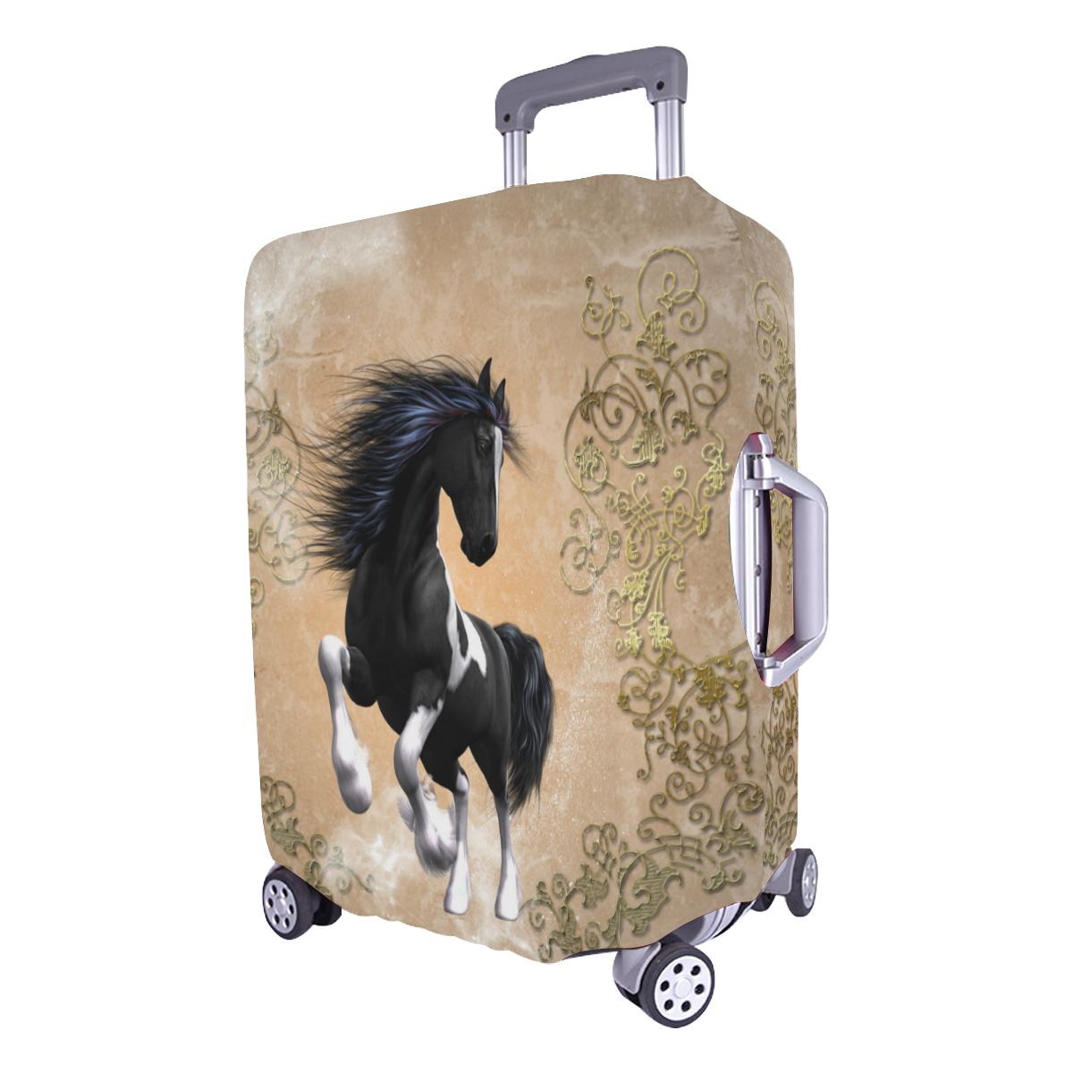 """Wonderful horse Luggage Cover/Large 26""""-28"""""""