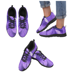 Balloon Flower Women's Breathable Running Shoes/Large (Model 055)