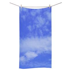 "Blue Clouds Bath Towel 30""x56"""