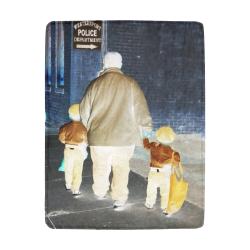 Ghosts roaming the street Ultra-Soft Micro Fleece Blanket 43''x56''