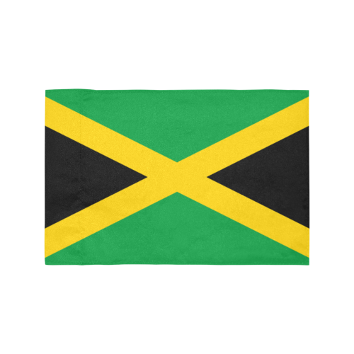 Jamaica Motorcycle Flag (Twin Sides)