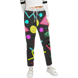 90's Dino Pants party Unisex All Over Print Sweatpants (Model L11)