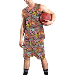Atlanta by Nico Bielow All Over Print Basketball Uniform