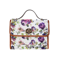 58st Waterproof Canvas Bag/All Over Print (Model 1641)