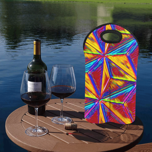 Vivid Life  by JamColors 2-Bottle Neoprene Wine Bag