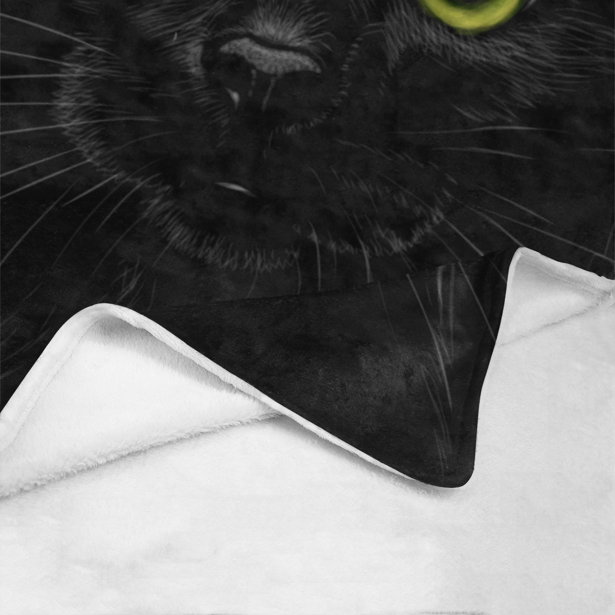 Black Cat Ultra-Soft Micro Fleece Blanket 54''x70''