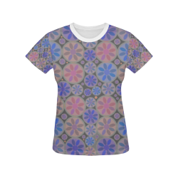 zappwaits beautiful 08 All Over Print T-shirt for Women/Large Size (USA Size) (Model T40)