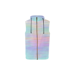 noisy gradient 1 pastel by JamColors All Over Print Sleeveless Zip Up Hoodie for Kid (Model H16)