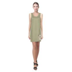 ASL I Love You Koala Helen Sleeveless Dress (Model D10)