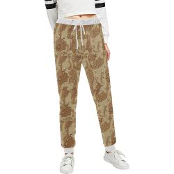 Vintage Desert Brown Camouflage Unisex All Over Print Sweatpants (Model L11)