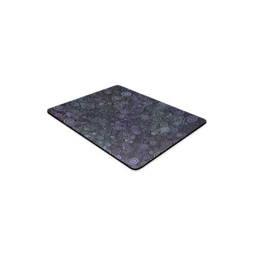 3d Psychedelic Ultra Violet Powder Pastel Rectangle Mousepad
