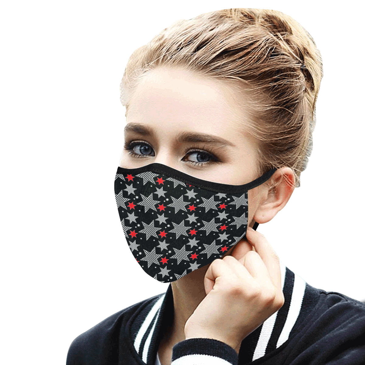 18pa Mouth Mask in One Piece (2 Filters Included) (Model M02) (Non-medical Products)