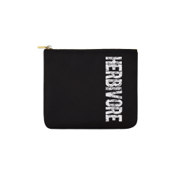 Herbivore (vegan) Carry-All Pouch 6''x5''